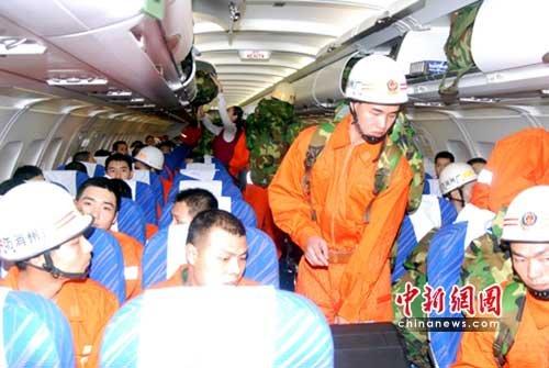 南航两架飞机紧急驰援青海玉树地震救灾