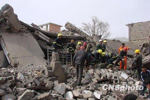 青海玉树7.1级地震是该地区近年来最大地震
