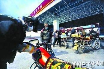 玉树灾区加油站日售油翻倍 中石油紧急调油