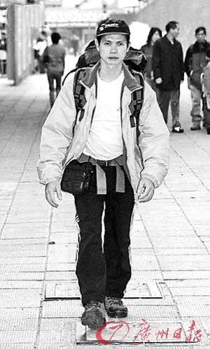 香港义工阿福生前照片。(资料图片)