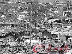 玉树的房子大多严重受损。