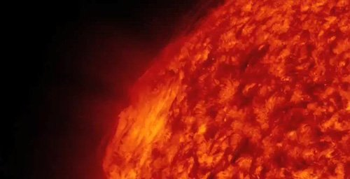 美NASA公布太阳风暴特写 为迄今最佳影像(图)