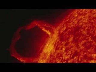 视频:美国NASA公布太阳风暴影像