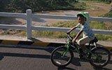 酷毙了!连云港8岁男孩骑行去拉萨 全程3900公里