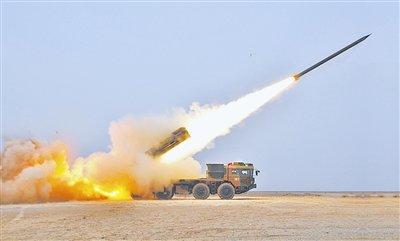 中国新型多管火箭炮研制成功(图)