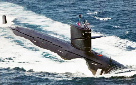 美媒:中国一潜艇10月在日本附近潜随美国航母