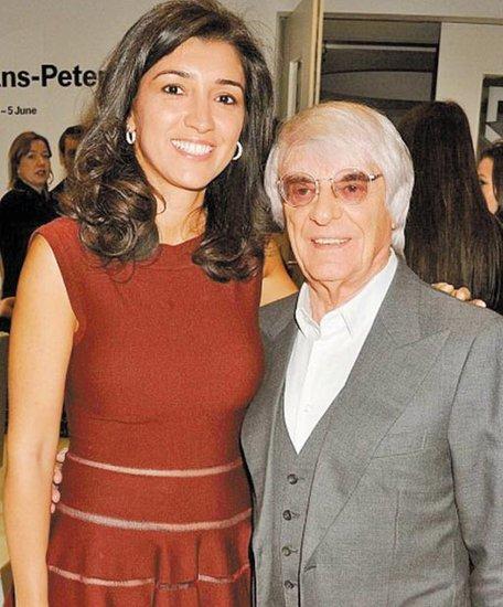 81岁F1老板迎娶35岁巴西美女 前妻女儿缺席婚礼