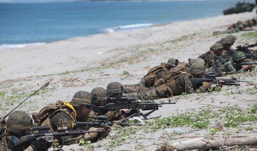 美将领称美菲军演与黄岩岛事件无关 不针对中国