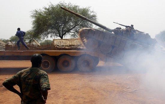 美国提议对南苏丹实施武器禁运 俄等国难同意