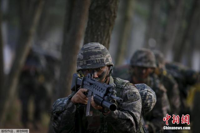 """韩举行""""护国训练"""" 青瓦台:坚决做好外交安全事务"""