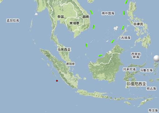 印度尼西亚发生7.5级地震