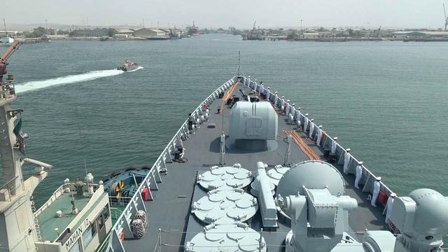 中伊海军海峡演习 英媒:或令美忧虑