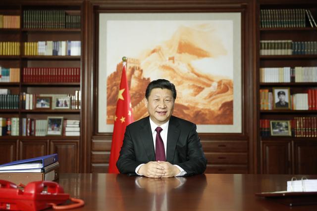 习近平发表新年贺词:为我们伟大的人民点赞