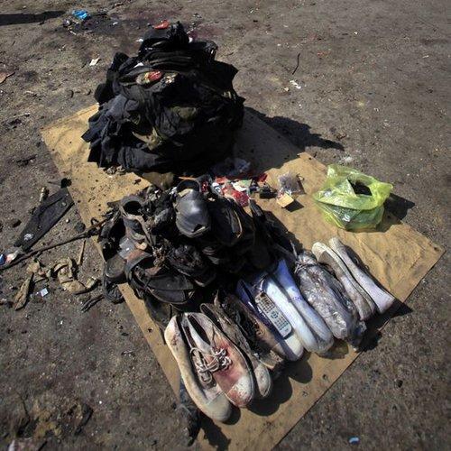 塔利班袭击巴基斯坦致80死 称为拉登复仇(组图)