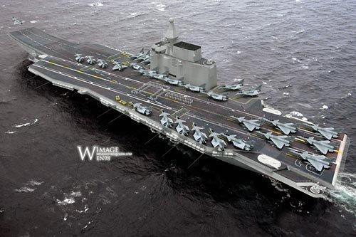 """外媒暗指航母是中国海军的""""顶级奢侈品"""""""