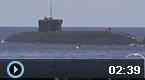 俄核潜艇发射洲际导弹