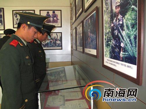 武警官兵参观李向群纪念园 缅怀新时期英雄战士
