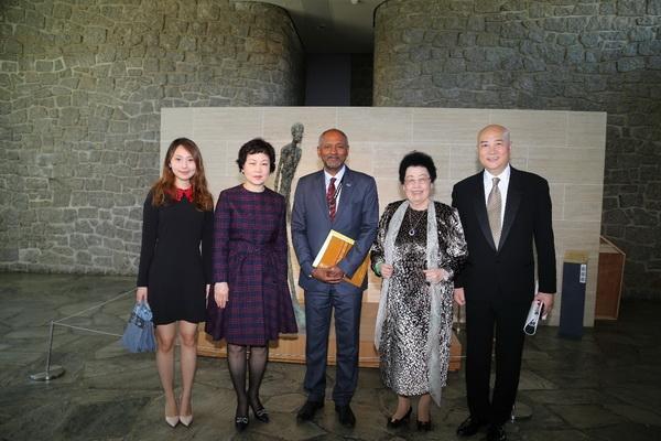 中国紫檀博物馆陈丽华馆长一行应邀出席联合国教科文组织合作伙伴峰会