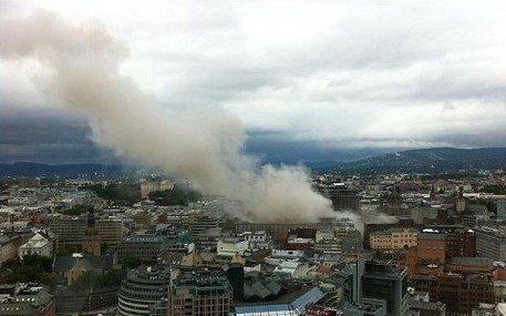 挪威政府办公楼附近发生爆炸 至少1死8伤
