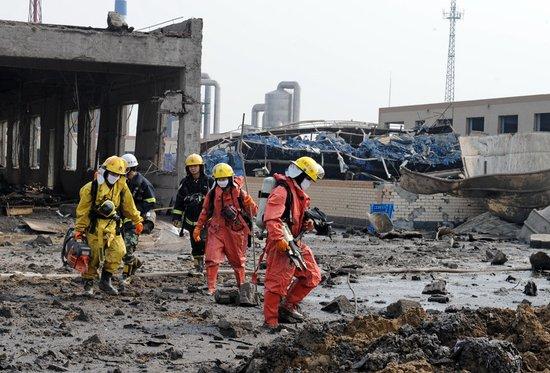 河北赵县化工厂爆炸事故致16人遇难43人受伤