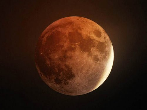 月全食 北京天文馆资料图