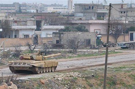 叙政府军收复部分阿勒颇老城区 反对派攻占机场