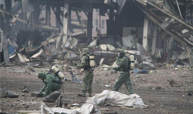 天津爆炸遇难人数升至85人 包括21名消防员(图)