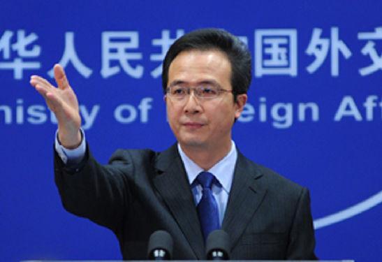 外交部发言人洪磊就任中国驻芝加哥总领事(图)