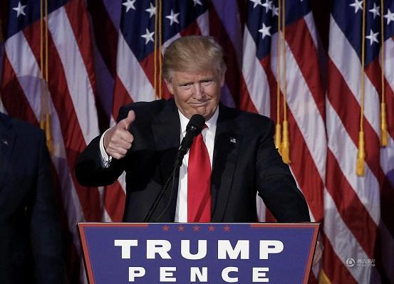 特朗普登上美国总统宝座,东海、南海风浪有望变小