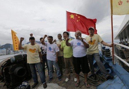 日本自卫队可能干预中方民间保钓组织登钓鱼岛