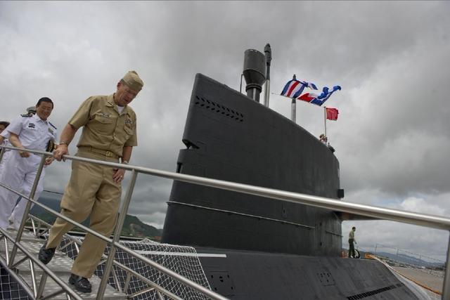 泰国宣布购买3艘中国元级潜艇 价值10亿美元