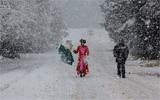 南非遭遇15年来最大降雪天气
