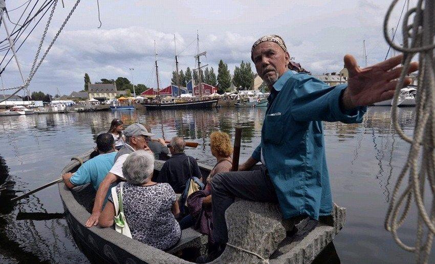 法国现3.6吨石头船 可载人航行_新闻_腾讯网 - 自由百姓 - 我的博客