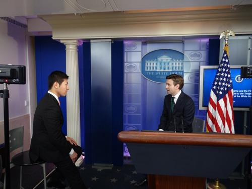 """媒体专访白宫发言人:""""习奥会""""将有建设性讨论"""