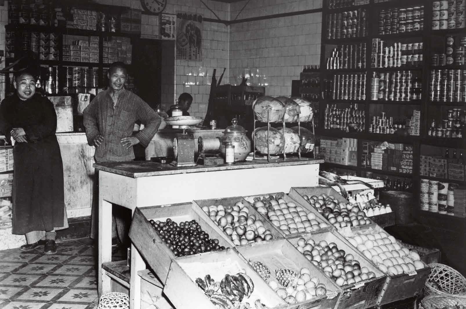1949年,铜锣湾。
