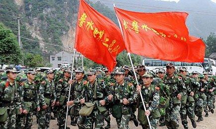 中国军队和美军的差异 - 双双与郎郎 - 以人的眼光看这个疯狂动物世界