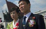 朝鲜新人国庆节结婚