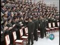 视频:胡锦涛习近平会见国防大学党代会代表