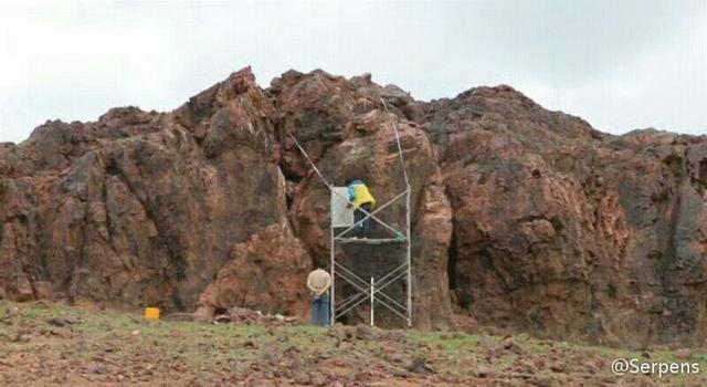 考古學家發現漢軍破匈奴紀功碑:勒石燕然