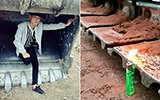 19岁小伙用挖掘机打燃打火机