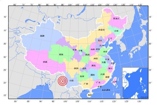 云南盈江发生5.8级地震 据称县城房屋倒塌严重