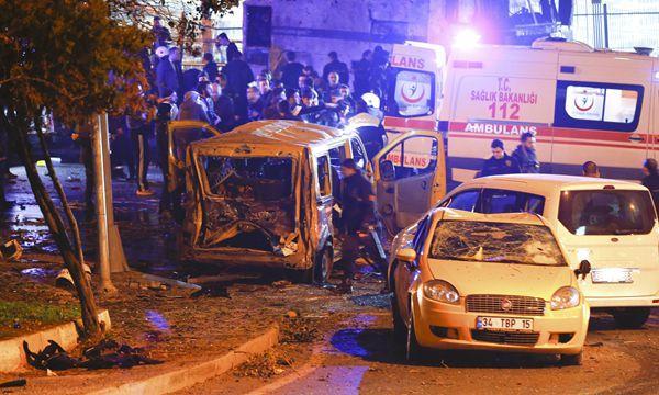 """""""库尔德自在之鹰""""组织声称对土耳其致200人口死伤袭击卖力"""
