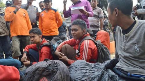印度尼西亚发生森林大火 造成7名登山客死亡