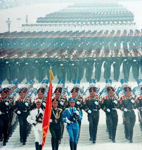 中国军区划分的变迁