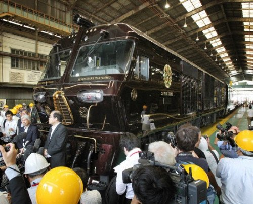 这一列车将于本月15日开始,在九州地区运营。