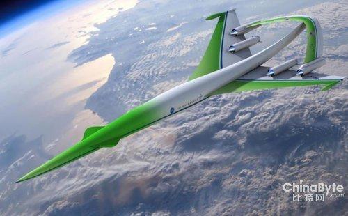 美国设计未来超音速绿色飞机 可大幅降低音爆