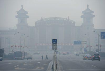 33城市元宵节现重度污染天 北京污染指数再爆表