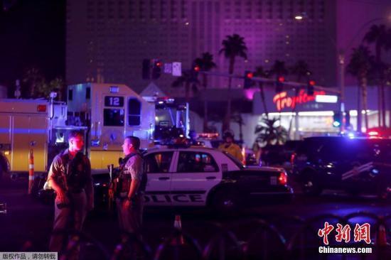 美国会民主党议员针对赌城枪击惨案再次呼吁控枪