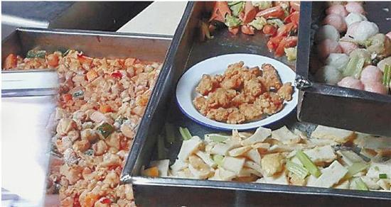 温州一中学加热中秋前冷冻菜给学生吃 已被查封