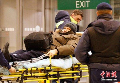 普京对莫斯科机场爆炸案遇难者家属进行援助